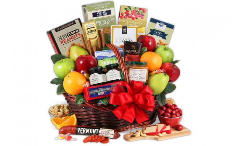 5 of the best sympathy gift ideas that arent flowers fruit basket as a sympathy gift negle Gallery