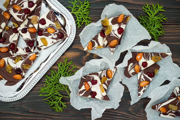 16 Variations for Homemade Chocolate Bark