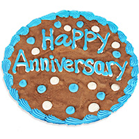 Happy Anniversary Brownie Cake 8863S