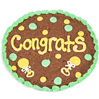 Congrats Baby Brownie Cake 8867S