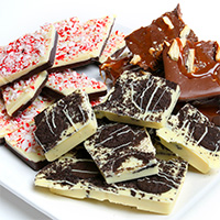 Belgian Chocolate Holiday Bark Collection 9283S
