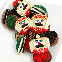 Nutcracker Belgian Chocolate Covered Oreo® Cookies 9284S