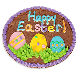 Happy Easter Brownie Cake 8897S