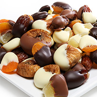 Chocolate Covered Dried Fruit Assortment 9075S