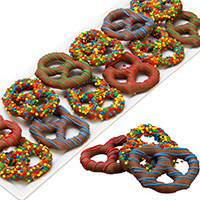 Happy Birthday Chocolate Covered Pretzels 9326S
