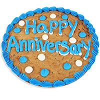 Happy Anniversary Cookie Cake (8663S)