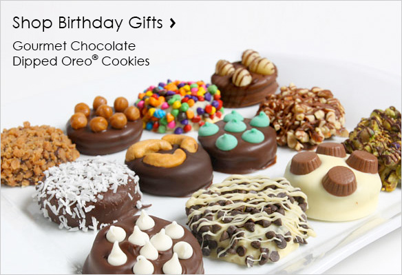 Shop Chocolate Dipped Birthday Gifts
