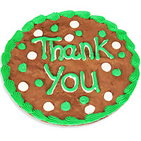 Thank You Brownie Cake