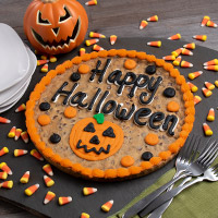Happy Halloween Cookie Cake (8675S)
