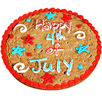 Happy 4th of July Cookie Cake (8670S)