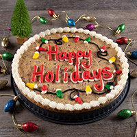 Happy Holidays Cookie Cake (8680S)