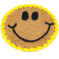 Smile Cookie Cake (8664S)