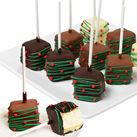 Christmas Cheesecake Pops