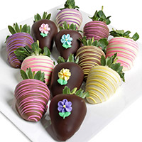 Triple Chocolate Springtime Berries