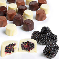 Belgian Chocolate Covered Blackberries