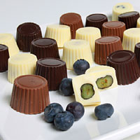 Belgian Chocolate Covered Blueberries