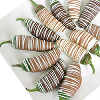 Belgian Chocolate Dipped Jalapenos (9022S)