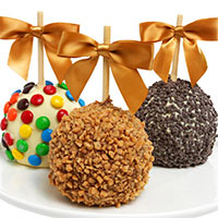 Caramel & Candy Dipped Apples