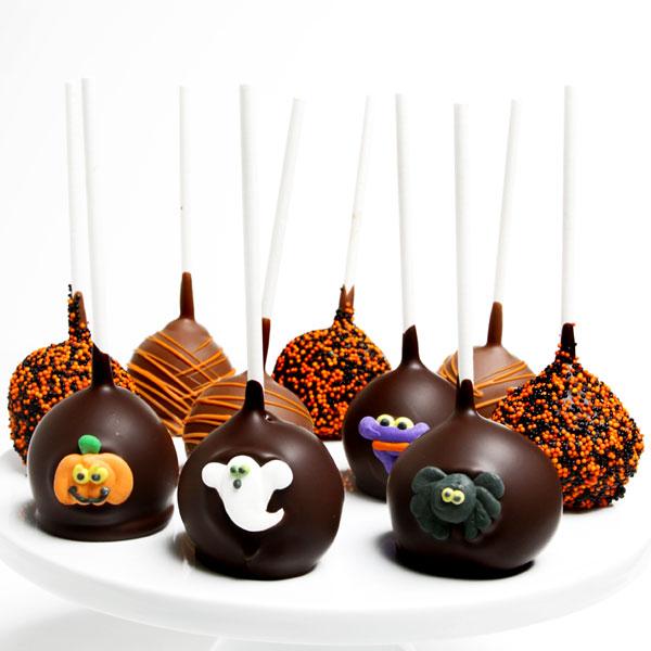 halloween cake pops by strawberriescom