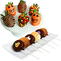 Halloween Strawberries & Oreo® Pops