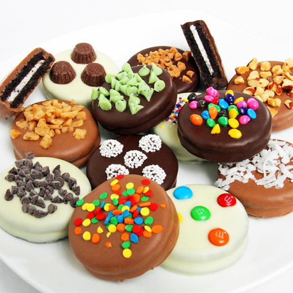 Gourmet Chocolate Dipped Oreo Cookies