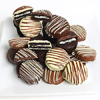 Triple Chocolate Dipped Oreo® Cookies