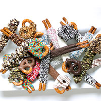 Gourmet Chocolate Dipped Pretzel Assortment