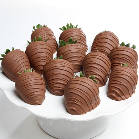 Milk Chocolate Covered Strawberries By Strawberries Com